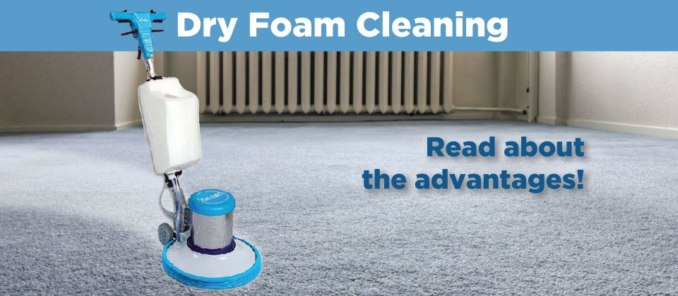 Dry Foam Cleaning Banner