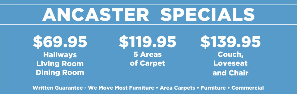 sparkling clean cleaning specials ancaster